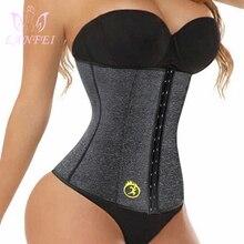 LANFEI S-6XL Body Shapers Corset Waist Trainer Slimming Belt for Women Neoprene Weight Loss Sweat Gym Fitness Workout Underwear