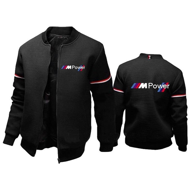 Новая легкая куртка для bmw power с логотипом, спортивная куртка на молнии, пальто, мужская куртка-пилот, Повседневная ветровка, мотоциклетные п...