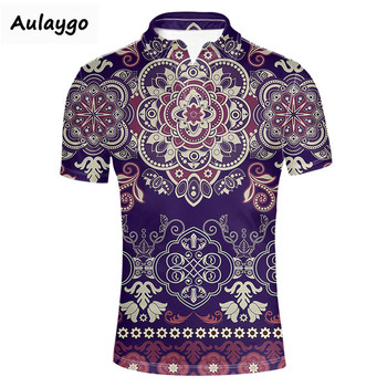Short Sleeve Polos Shirt Men 2020 Summer Casual & Business 3D Retro Printing Us Polos Shirts Polos Men Playera Polos Hombre фото