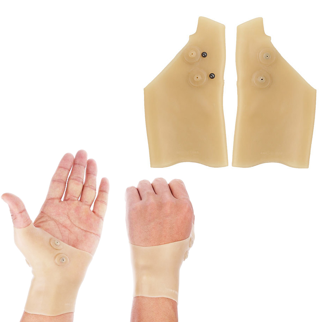 1pcs Magnetic Therapy Hand Thumb Wrist Brace Pain Relief Arthritis Carpal Tunnel Syndrome Relief Pressure Corrector Glove