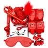 PU 10pcs Red