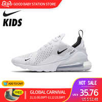 NIKE AIR MAX 270 Original nouveauté enfants chaussures de course Sports de plein Air AIR maille baskets #943345