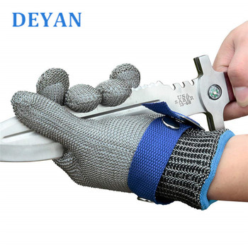 Multi Function Anti Cut Gloves Safety Cut Proof Stab Resistant Stainless Steel Wire Metal Mesh Butcher Cut-Resistant Work Gloves 1 pair anti cut gloves cut proof stab resistant stainless steel level 5 protect industrial work safety gloves