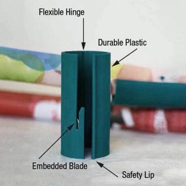 Фото мини оберточная бумага резак рулон режет линии префекта каждый цена