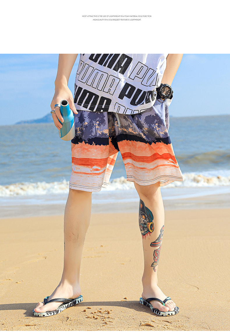 H97df7c39bc4444b9a6e4695127771fe8G - VESONAL Summer Graffiti Print Slippers Men Shoes Flip Flops Slipers Male Hip Hop Street Beach Slipers Casual Flip-flops