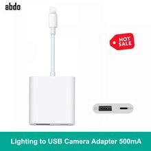 500mA с высоким уровнем Мощность Lightning/HDMI цифровая usb-камера OTG передачи данных разъём кабельный переходник для iPad mini 2/3/4 Air iPhone XR X XS Max 8/7