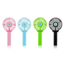 Portable Hand Fan USB Rechargeable Foldable Handheld Mini Fan Cooler 3 Speed Adjustable Cooling Fan Decor mini usb hand fan cooling portable fan led light air conditioner cooler adjustable speed heat rechargeable battery fans 200mm