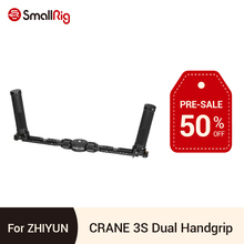 SmallRig Dual Handgrip for Zhiyun CRANE 3S Gimbal Stabilizer Handheld Grip With NATO Rail/Cold Shoe Tripod Support Handle 2857