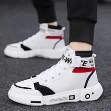 New Men's High Top Casual Shoes High Quality Comfortable Sof