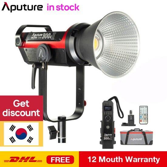 Aputure LS C300d II 300d II LED Video Light COB Light 5500K Daylight with Bowens Mount Outdoor Studio Light Photography Lighting