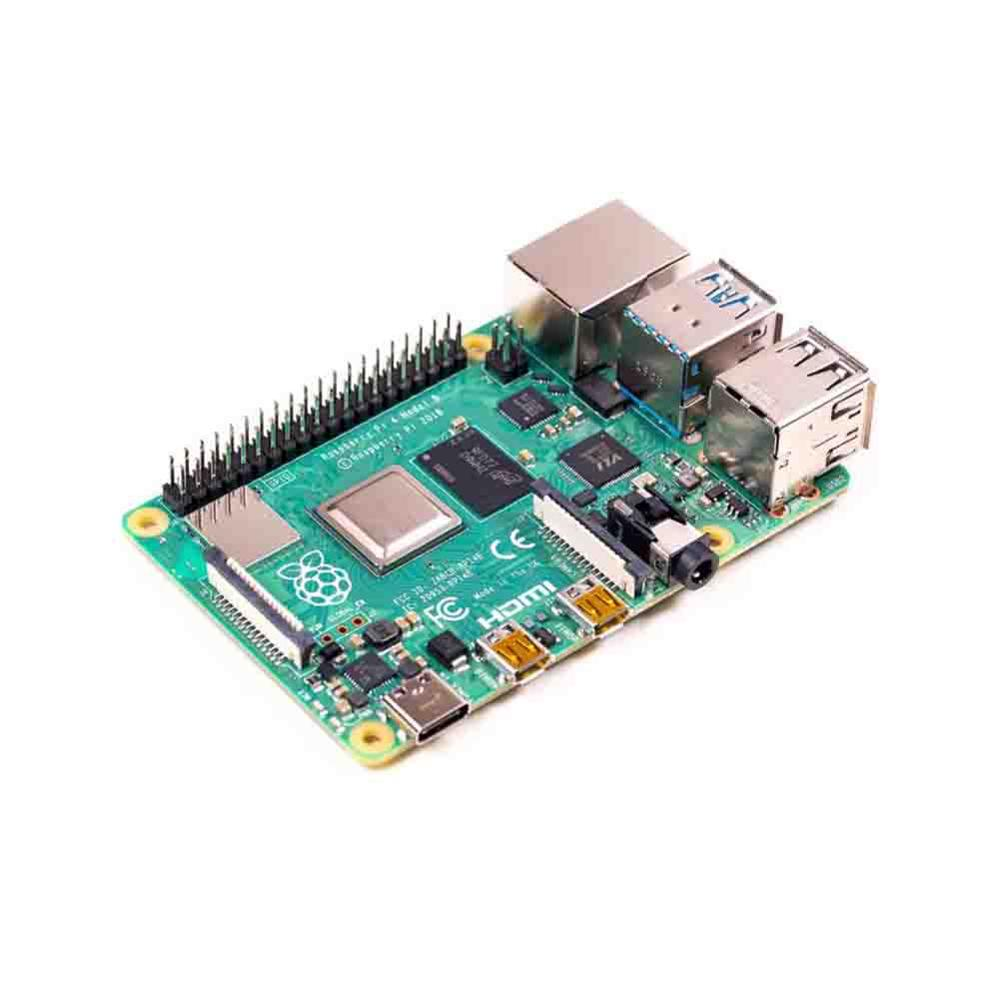 Taidacent Raspberry Pi 4B Development Board Dual-band WIFI Bluetooth 5.0 HDMI Dual Display Output Raspberry Pi Dual Ethernet