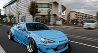Fit for TOYOTA gt86 for Subaru brz Rocket Bunny air knife