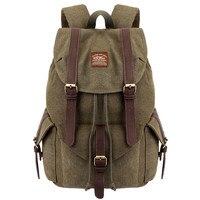 MUQGEW backpacks for school teenagers girls school bags for teenage Unisex Retro Solid Zipper Tactics Travel Bags mochila mujer