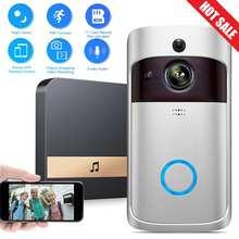 Video Doorbell Wireless 720P 2.4G WiFi Real Time 2Way Talk Voice Intercom Smart