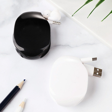 Headphone cable case data line organizer wire/USB protection box Reel Charging Cable finishing