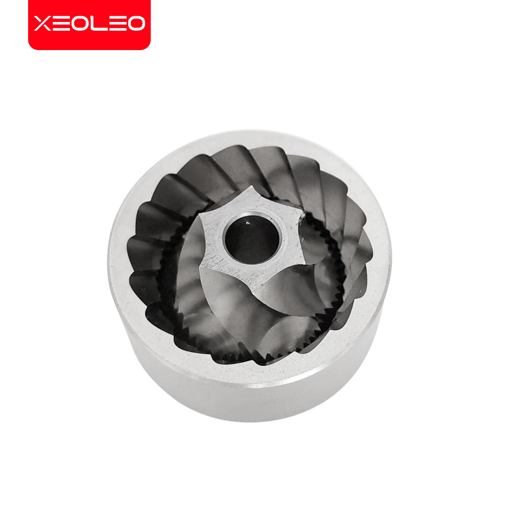 XEOLEO Manual Coffee grinder 45MM Aluminum Coffee miller Black/Brown/Silver/Gold 15g Mini Portable Coffee milling machine 3