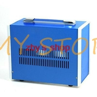 270mm x 210mm x 140mm Blue Metal Enclosure Case DIY Power Junction Box