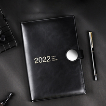 Agenda 2022 Planner Stationery for School Notebook and Journal Diary A5 Notepad Office Sketchbook Week Daily Calendar Note Book