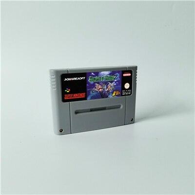 Secret Of Mana Or Secret Of Mana 2 - RPG Game Card EUR Version English Language Battery Save