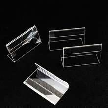 10 шт акриловый прозрачный пластиковый Настольный стенд для