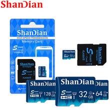 Mini cartão de memória SD Card sd inteligente 8gb gb gb 64 32 16gb Cartões sd cartao de memoria classe 128gb 10 inteligente 64gb flash drive para o telefone