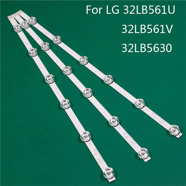 LED TV Illumination Part Replacement For LG 32LB561U ZC 32LB561V ZE 32LB5630 TD LED Bar Backlight Strip Line Ruler DRT3.0 32 A B