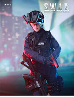 New arrival In Stock For Collection 1/6 Scale Female Solider Mini Times Toys SWAT M016 Action Figure Model for Holiday Gifts