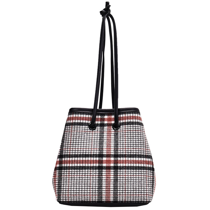IVog New Arrival Everyday Ladies Small Shoulder Messenger Handbag Geometric Louisbag Bucket Bags For Women 2019