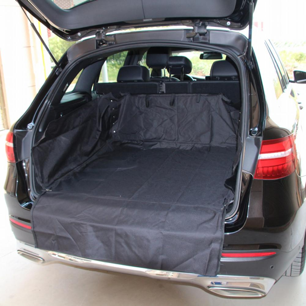 Universal Car Boot Mat Waterproof And Dirty Resistant Pet Cushion Pad Trunk Storage Bag Organizer For SUV Car trunk pet mat|  - title=