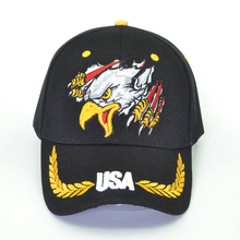 New Brand Eagle Baseball Cap American Flag Embroidery Snapback Dad Hat Bone Male Summer Casual Letter USA Army Tactical Caps