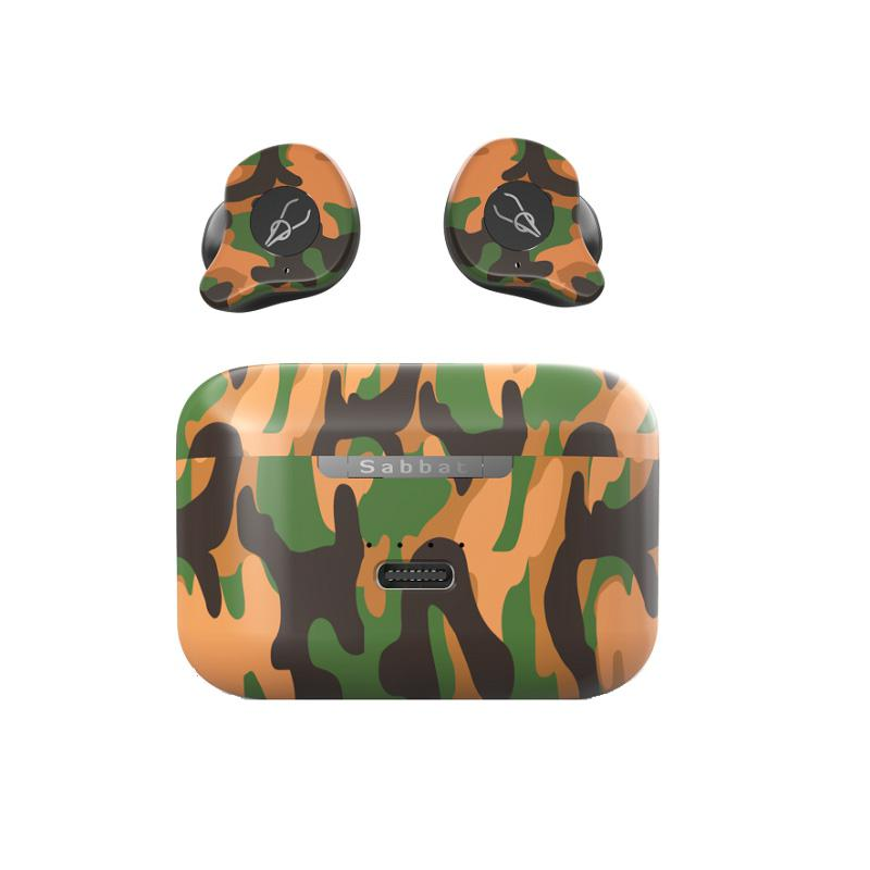 TWISTER. CK Sabbat X12 Ultra <font><b>Camouflage</b></font> TWS Wahre Wireless 5,0 Bluetooth Headset In-ohr Stereo Ohrhörer Headset image