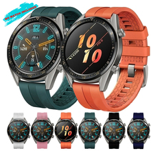 belt smartwatch Bracelet For Huawei Watch GT Active Elegant Sport Soft Silicone Watch Band Strap 22mm For Huawei Watch GT huawei watch active black mercury g01