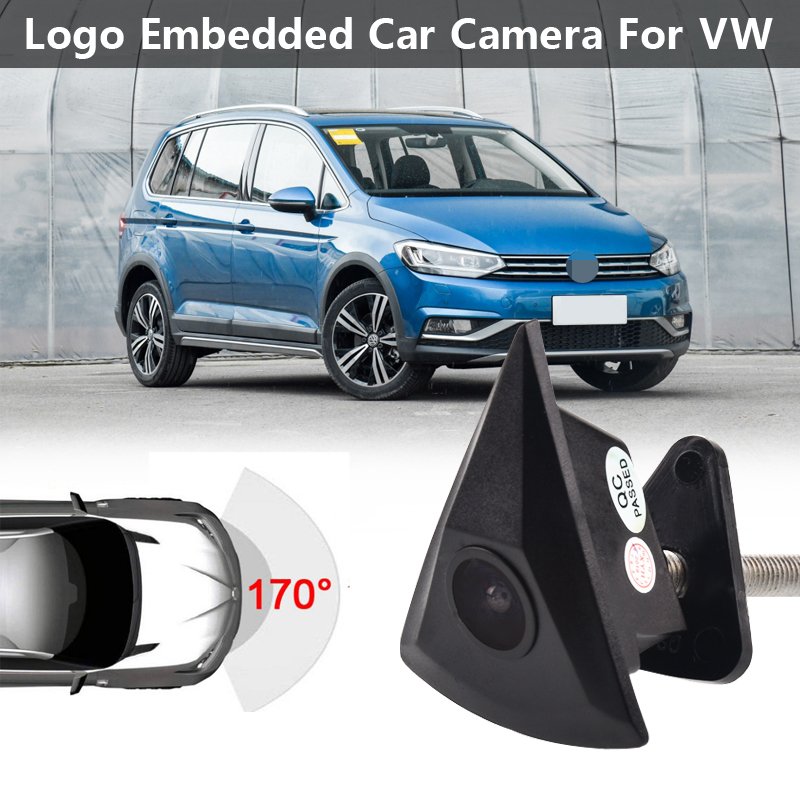 Car CCD Front View Camera For VW Passat B5 B6 B7 Tiguan Golf MK5 MK6 Touran Polo Beetle
