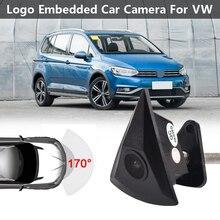 Car CCD Front View Camera for VW Passat B5 B6 B7 Tiguan Golf