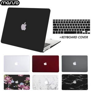 Laptop Case For Macbook Pro 13 A2289 A2251 2020 Air 13 Touch ID A2179 Hard Cover With Free Keyboard Cover A1466 A1932 A2159 Case