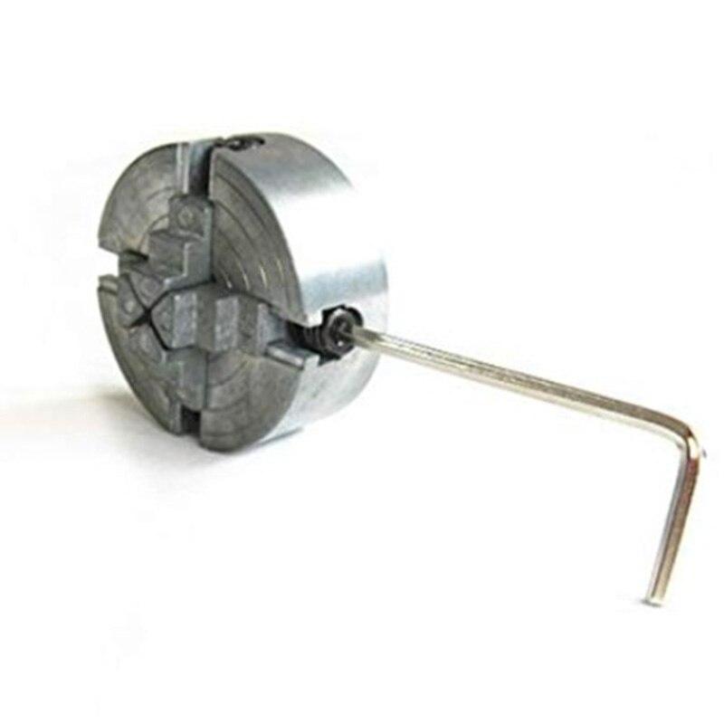 Neue Vier 4 Backenfutter Z011A Für Metall Mini Drehmaschine M12X1Mm Gewinde Zurück 1,8 ~ 56 Mm/12 ~ 65Mm Mini Collet Drehmaschine Zubehör