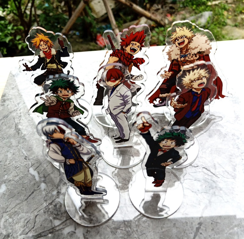 New My Hero Academia Acrylic Stands Large Size Characters Acrylic Ornaments Fans Gift Anime Around