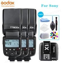 Godox TT600s kamera flaşı Speedlite 2.4G Kablosuz Master Slave X1T S HSS TTL Sony a6000 a7 II III a58 a6500 a6300 a37