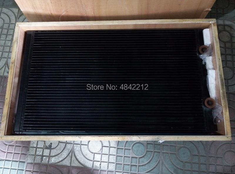 Free shipping 5.3678.0 alternative Kaeser CSD75 screw air compressor spare parts air cooler oil cooler heat exchanger