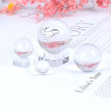 Feng Shui Glass-Balls Wedding-Decoration Photography Crystal Clear-Color Magic Natural