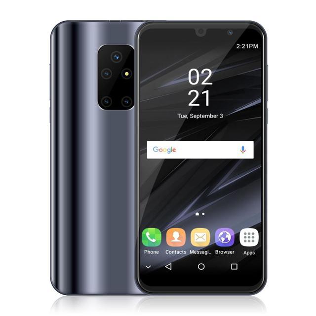 "Xgody smartphone dual 3g sim mtk6580, telefone celular, android 8.1, tela 5.5 ""18:9 full, 1gb, 4gb, quad core celular 5mp câmera 2200mah"