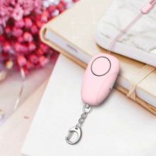 PInk Safesound Personal Alarm Self Defense Alarm LED Flashlight With USB Rechargerable Security Personal Protection Device personal assets