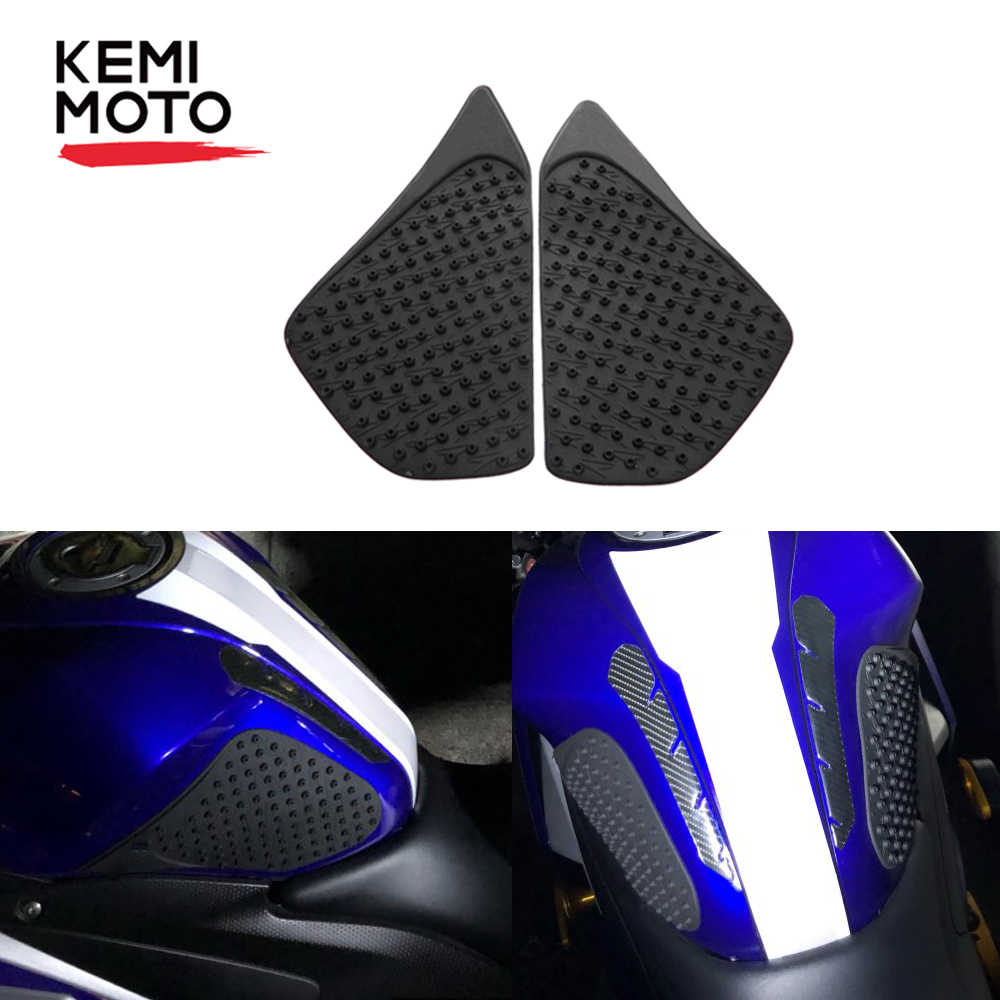 For Yamaha YZR-R3 15-17 Tank Traction Gas Side Knee Grip Protector Anti Slip Pad