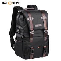 K&F CONCEPT Large Capacity Camera Backpack Waterproof Multifunctional Travel Bag for Canon Nikon Sony Photography Camera Bag