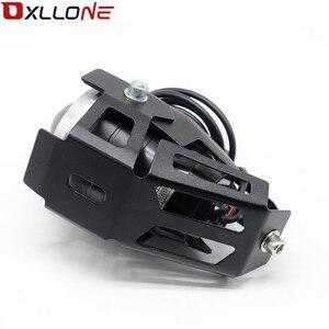 Image 5 - 가와사키 닌자 h2r ZX 6R ZX 6R 몬스터 에너지에 대 한 스포트 테일 램프 안개 빛을 운전하는 범용 12 v 오토바이 금속 led 미등
