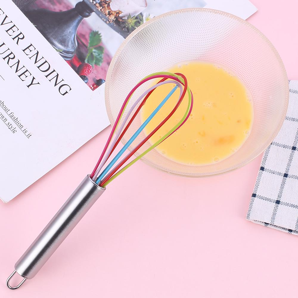 Facemile 1pcs Drink Whisk Mixer Egg Beater Silicone Egg Beaters Kitchen Tools Hand Egg Mixer Cooking Facemile 1pcs Drink Whisk Mixer Egg Beater Silicone Egg Beaters Kitchen Tools Hand Egg Mixer Cooking Foamer Wisk Cook Blender