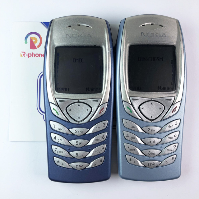 Original NOKIA 6100 Mobile Cell Phone Unlocked GSM Triband Refurbished 6100 Cellphone Cheap Phone