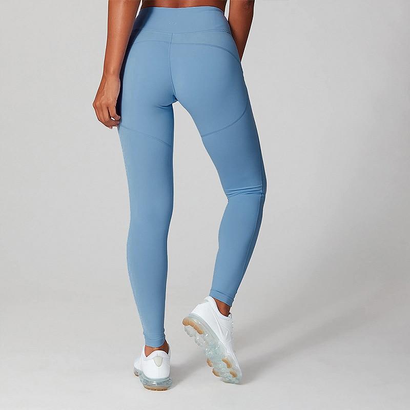 2020 Autumn Spring Leggings Sport Women Fitness High Waist Fashion Bodybuilding Nylon RUNNING Joggers Pants Trouers