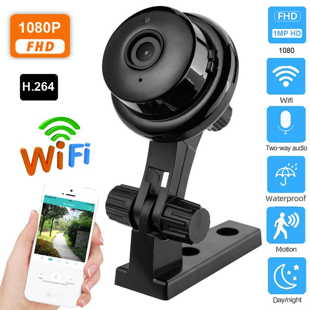 Wireless 1080P HD IP Camera Two Way Audio Night Vision Video Monitor 360 Degree Panoramic Home Security WIFI Camera