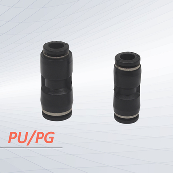 PU/PG Series pu connector pu tube 4mm 6mm 8mm 10mm fitting PG6-4 PG8-6 image
